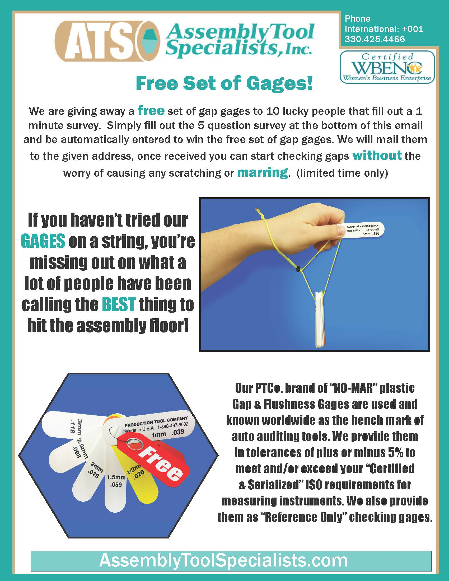 free gage giveaway