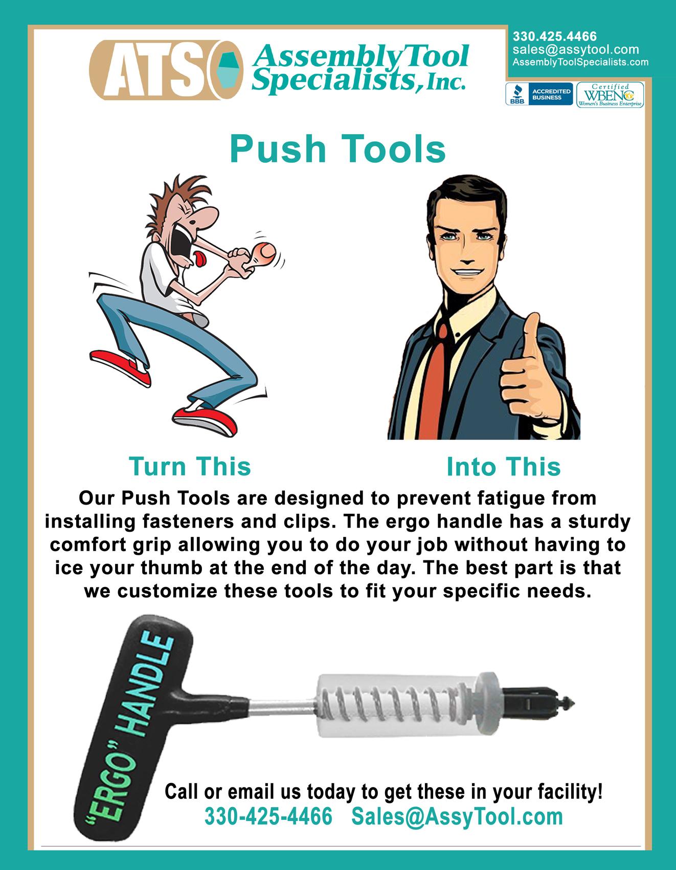 custom push tool
